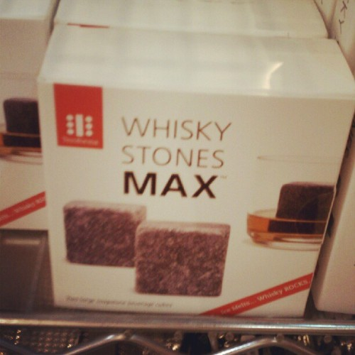 """Uh…yes Whisky Stones? What up"" (Taken with Instagram)"