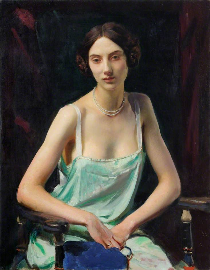 George Spencer Watson, Woman in a Camisole (1932)