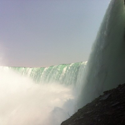 In absolute awe.  (Taken with Instagram at Niagara Falls)