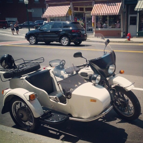 Ural #motorcycle with sidecar (Taken with Instagram)