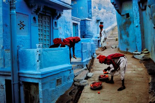 aud10v1de0d1sc0:  Jodhpur, India by Steve Mccurry