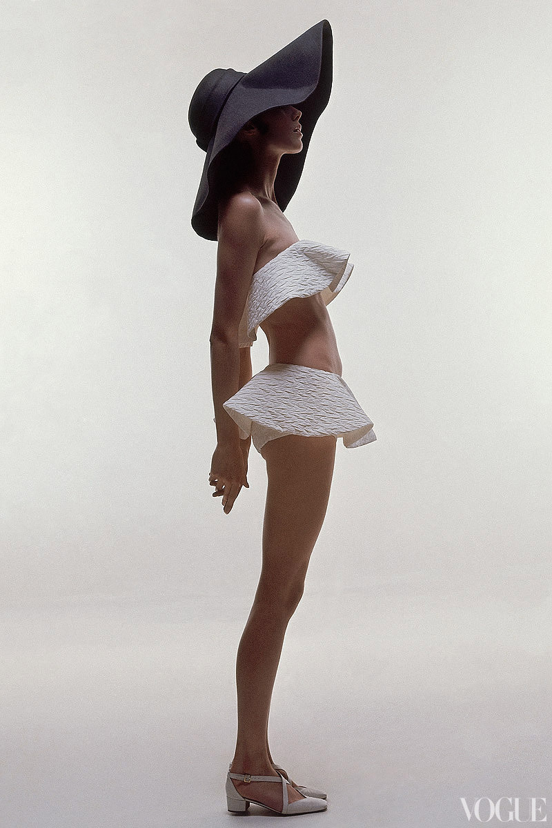 vogue:  From the Archives: Bathing Suits in Vogue Photographed by Bert Stern, Vogue, June 1969  See the slideshow