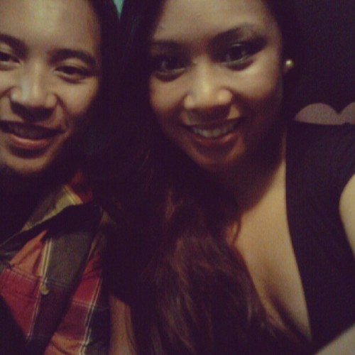 Last night, heading to Club Legends for Eriq :) (Taken with Instagram)