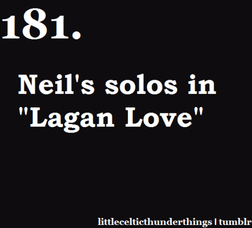 "little celtic thunder things #181: Neil's solos in ""My Lagan Love"".""Where Lagan stream sings lullaby There blows a lily fair The twilight gleam is in her eye The night is on her hair "" Listen here http://littlecelticthunderthings.tumblr.com"