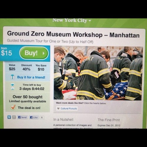 Best museum dedicated to ground zero and FF #firefighter #ems #emt #paramedic #fdny #newyork #nyc #911 #museum #show #meatmarket by a great photographer @marlonman  (Taken with Instagram)