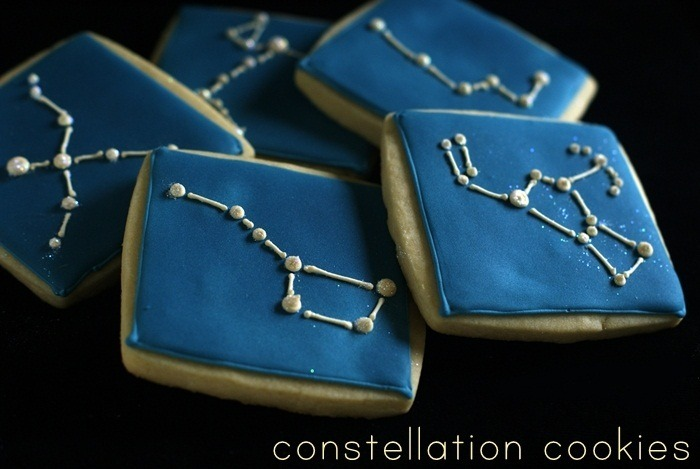 gastrogirl:  constellation cookies.