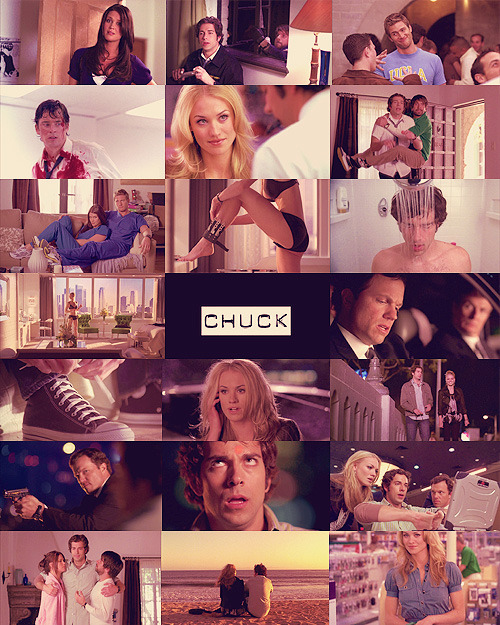 "chuckssarah:  Part 1 of 91 - 1.01 Pilot  ""Trust me, Chuck"""