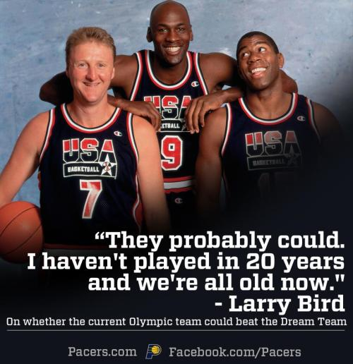 Larry Bird's responds to Kobe