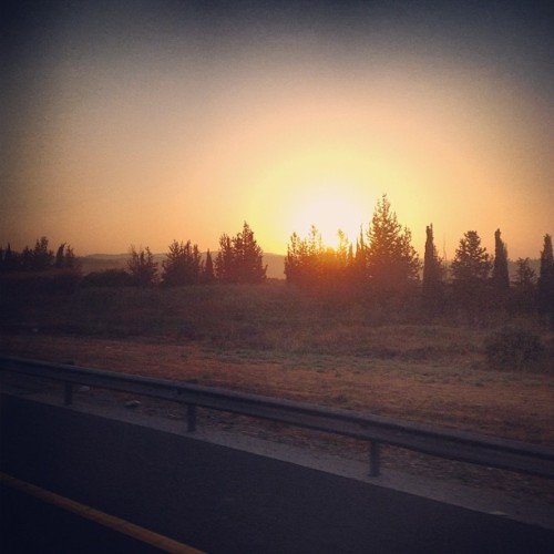 First Israeli sunrise 🌅💛 (Taken with Instagram at ISRAEL)