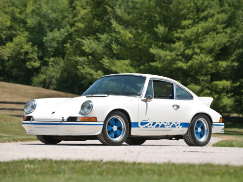 1972 Porsche 911 Carrera RS 2.7 Coupe.