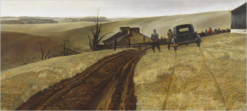 furtho:  Andrew Wyeth's Public Sale (via The New York Times > Arts > Image >)