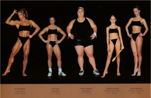 What does the body of an athlete really look like?