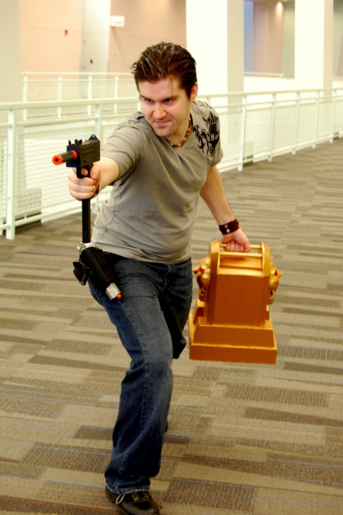 "lady-of-rohan:  Uncharted cosplay moments. Part two. ""We've got the idol!"" Photography by Andraiatower and drderange. The cosplay crew: Nathan Drake. Elena Fisher. Chloe Frazer. Harry Flynn. Talbot. Katherine Marlowe. Jeff. [Part One]  Always reblog!"