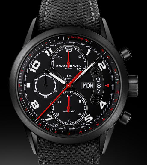 INTRODUCING: The RAYMOND WEIL Freelancer Urban Black. This new watchmaking instrument plunges us into a universe of intense urban sophistication for a brief moment, like the pause between notes. So, what do you think? http://ow.ly/ce7cj