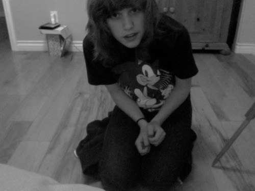me being extremely awkward on the floor
