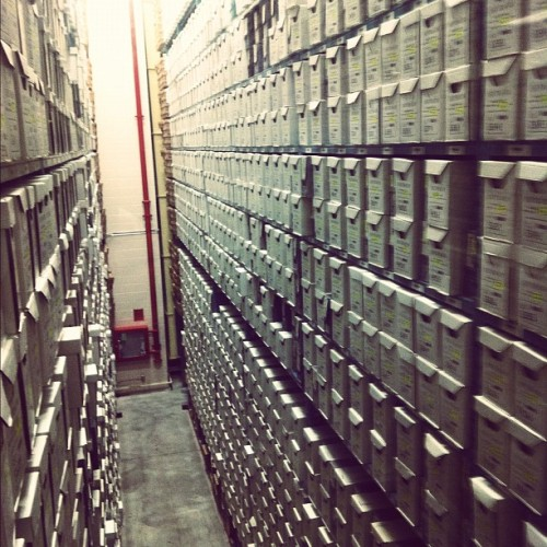 Ontario archives (Taken with Instagram)