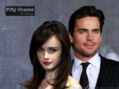 fifty-shades-of-christian-grey:  Matt Bomer and Alexis Bledel as Christian Grey and Anastasia Steele