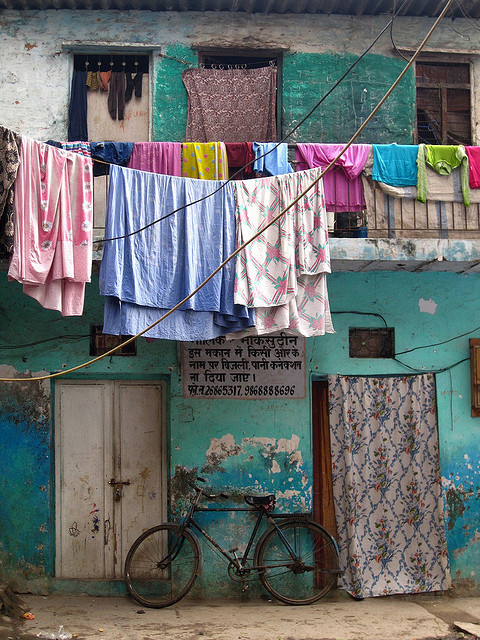 Local Colors by Artiii on Flickr.Via Flickr: Hauz Khas village, New Delhi