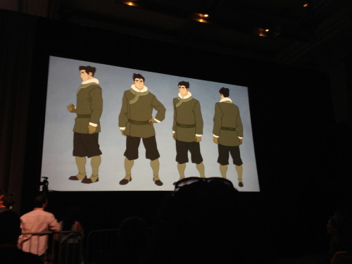 Bolin's new outfit