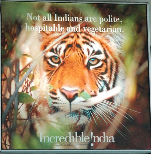 Not all indians are polite hospitable and vegetarian by EyalNow on Flickr.