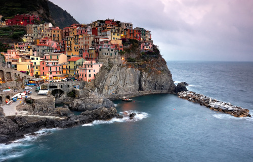 just-wanna-travel:  Manarola, Italy