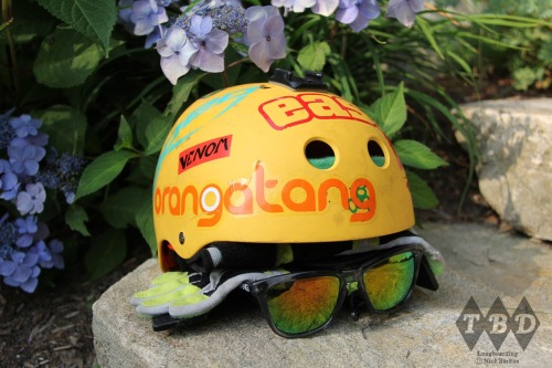 Summer Longboarding Essentials Triple8 Helmet, Loaded Freeride gloves, Dang sunnies!  Photo: Nick Burkus (Canon 60d)