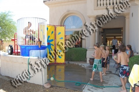 Dunk tank rentals all throughout the valley!