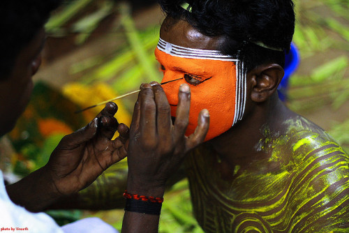 Theyyam at Mathikavu | Thalasserry by vineeth.ys on Flickr.