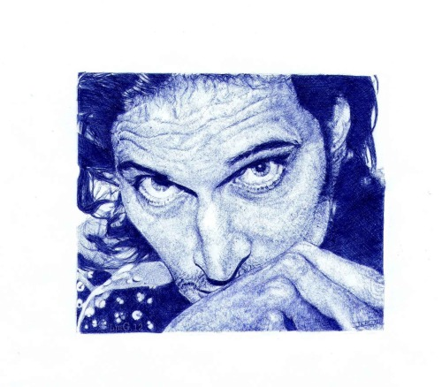 Vincent Gallo Tool: Ballpoint pen