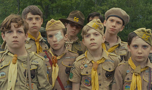 It's weird seeing the Antichrist in Moonrise Kingdom.