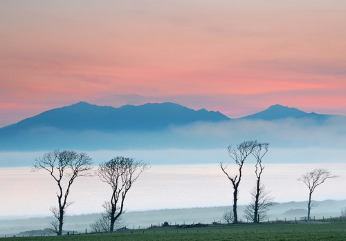 Arran Mist from Portencross Road by g crawford on Flickr.