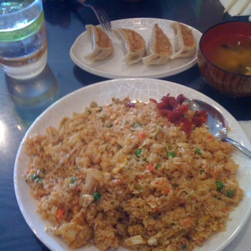 Kimchee fried rice! (Taken with Instagram)