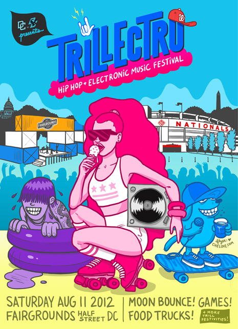 #trillectro hip-hop + electronic music festival brought to you by @DCtoBC