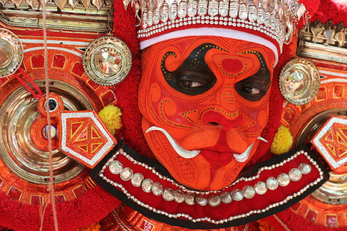 Theyyam by binux on Flickr.