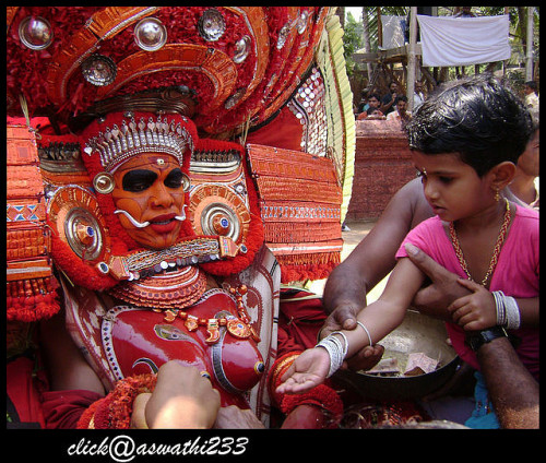 Theyyam-[puthiya bhagavathi] by Manoj Aswathi's Travel& Photography. on Flickr.