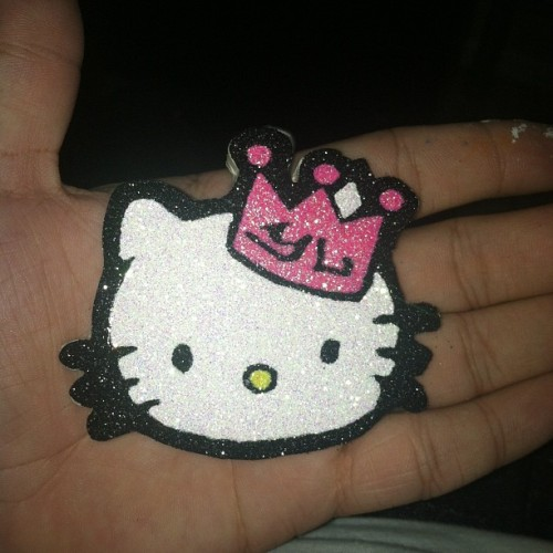 #claydope #mini #hellokitty #custom #based #summer  (Taken with Instagram)