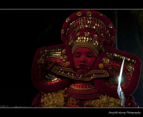 Theyyam An art of Transforming Man to God by Ranjith Shenoy on Flickr.
