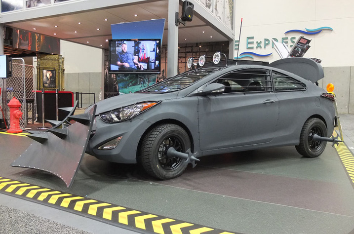 Hyundai Reveals Elantra Coupe Zombie Edition at Comic-con