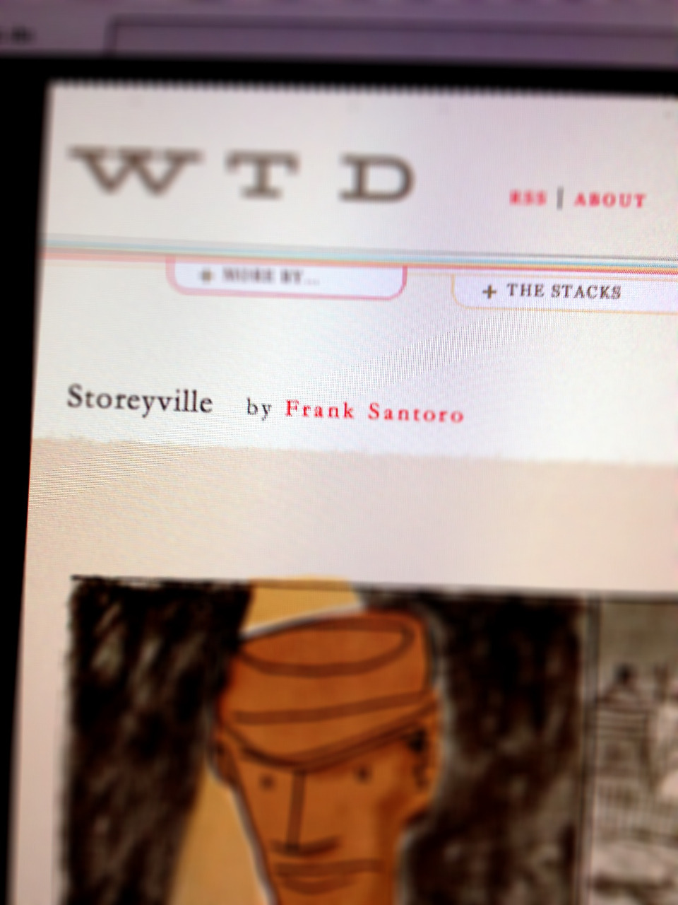 Storeyville by Frank Santoro is starting on WTD