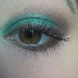 Green makeup (Scattata con Instagram)