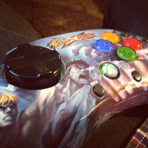 Can't go to comicon so I got this c: #xbox #streetfighter  (Taken with Instagram)