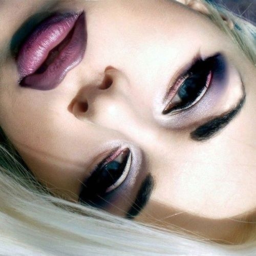 beautylish:  Purple valentine by Dalė G.!
