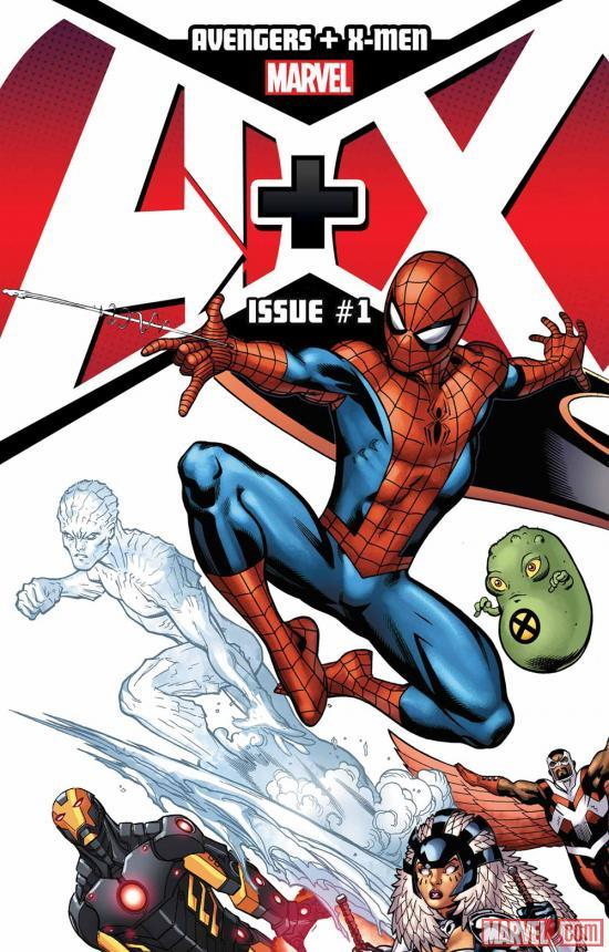 marvelentertainment:  Get your first look at A+X! An all-star project featuring Wolverine, Hulk and more by creators including Jeph Loeb, Dan Slott and others! More on Marvel.com…
