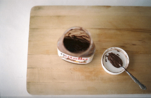 pipsss:  Nutella by julie marie craig on Flickr.
