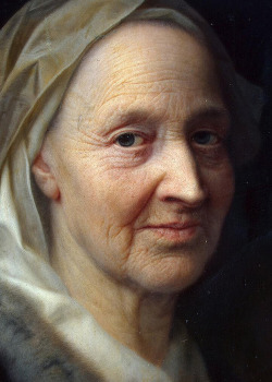 historical-paintings:  Balthasar Denner, Portrait of an old woman, 1720-1745 (detail)