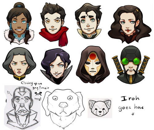 YAY! Progress!! Iroh… You're next… And then… I'm done… YES. AAAHAHAAHAHA!!