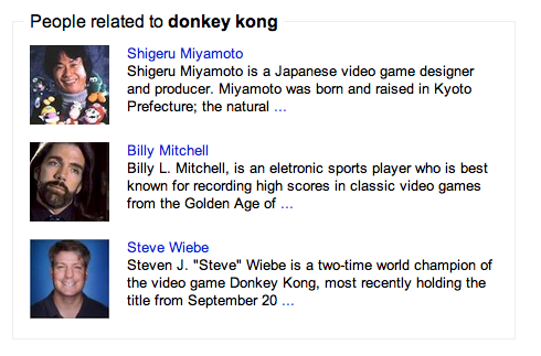 Wow Donkey Kong must have one hell of a family tree