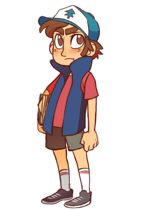 Gravity Falls is super cute. I think Dipper is pretty awesome haha.