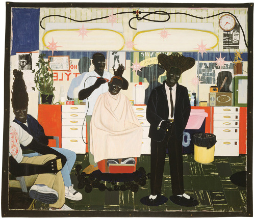 ailments:  De Style by Kerry James Marshall.