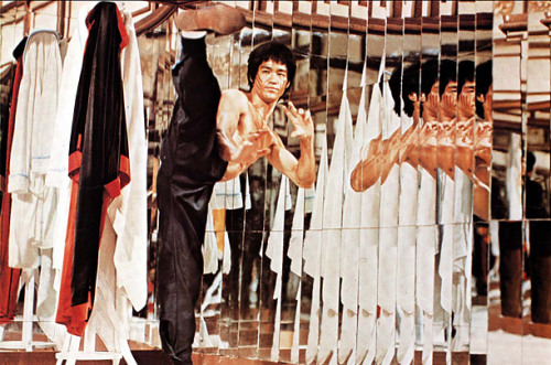 "presidentforlife.com Bruce Lee in ""The Game of Death"""